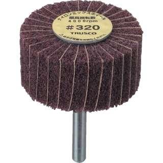 TRUSCO ナイロンミックスホイール外径φ30×厚み25×軸6 #320 FM3025-320 (1箱5個)