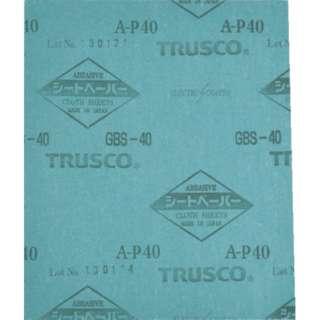 TRUSCO シートペーパー#40 1枚入 GBS-40-1P