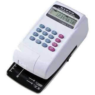 ニッポー 電子チェックライター充電式/コードレス機能付 FX-45CL