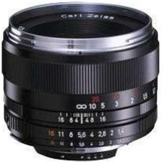 カメラレンズ T* 1.4/50 Planar ブラック [ニコンF /単焦点レンズ]