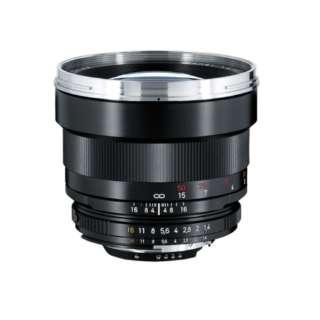 カメラレンズ T* 1.4/85 Planar ブラック [ニコンF /単焦点レンズ]