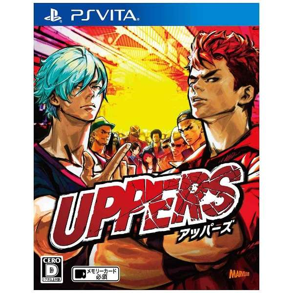UPPERS(アッパーズ)【PS Vitaゲームソフト】