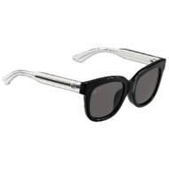 aa4259f84fe GUCCI Sunglasses  horse mackerel Ann fitting  (black crystal   dark gray) GG