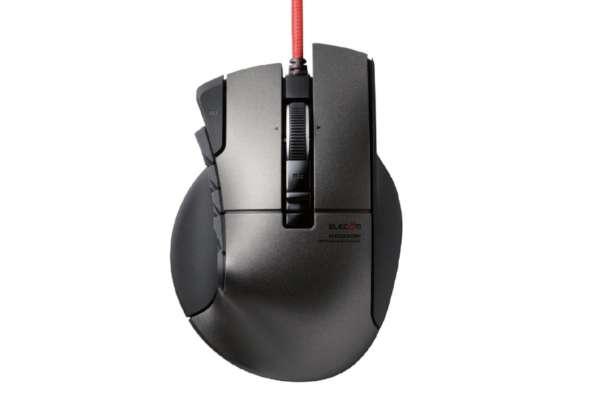 """エレコム「""""DUX""""MMOゲーミングマウス」M-DUX50BK"""