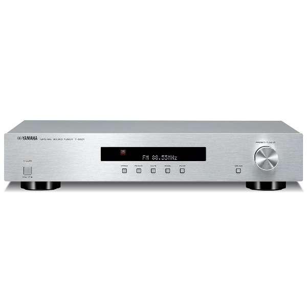 【ワイドFM対応】FM/AMチューナー(シルバー) T-S501 S [ワイドFM対応]