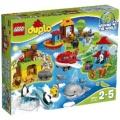 "LEGO(レゴ) 10805 デュプロ 世界のどうぶつ""世界一周セット"""