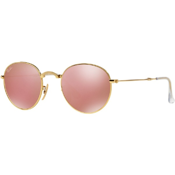 8d6bfe0ddff0d sale ray ban sunglasses rb3517 001 z2 48 22 visual click 2b1d2 ea724   clearance rayban round metal folding arista light brown pink mirror rb3532  001 z2 ...