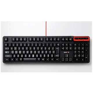 TK-DUX50BK ゲーミングキーボード DUX(ドゥクス) ブラック [USB /コード ]
