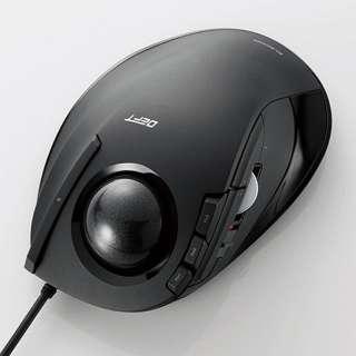 M-DT1URBK マウス DEFT ブラック  [光学式 /8ボタン /USB /有線]