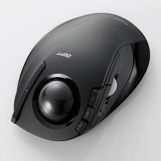 M-DT1DRBK マウス DEFT ブラック  [光学式 /8ボタン /USB /無線(ワイヤレス)]