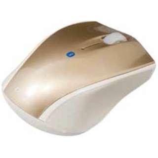 MUS-BKT99GL スマホ/タブレット対応 マウス Digio2 Sサイズ ゴールド  [BlueLED /3ボタン /Bluetooth /無線(ワイヤレス)]