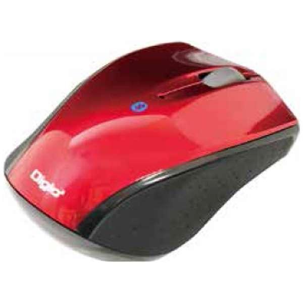 MUS-BKT99R スマホ/タブレット対応 マウス Digio2 Sサイズ レッド  [BlueLED /3ボタン /Bluetooth /無線(ワイヤレス)]