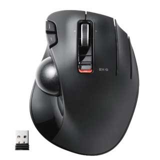 M-XT2DRBK マウス ブラック  [光学式 /5ボタン /USB /無線(ワイヤレス)]