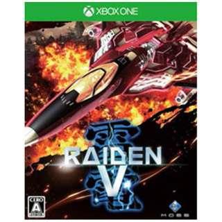 雷電V【Xbox Oneゲームソフト】