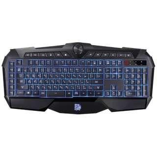 KB-CHM-MBBLJP-01 ゲーミングキーボード Challenger Prime ブラック [USB /コード ]
