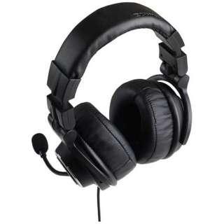 ゲーミングヘッドセット Tactical Headset ブラック [φ3.5mmミニプラグ /両耳 /ヘッドバンドタイプ]