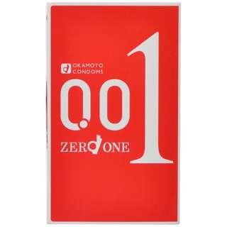 ゼロゼロワン 001 (3個入)<コンドーム>〔避妊用品〕