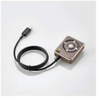 【ハイレゾ音源対応】Lightningオーディオアダプター+イヤホン(ゴールド) LHP-CHR192GD