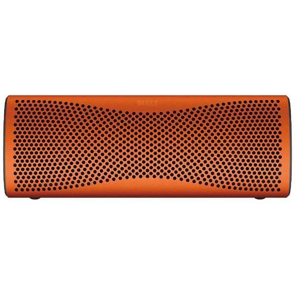 ブルートゥース スピーカー MUO ORANGE サンセットオレンジ [Bluetooth対応]
