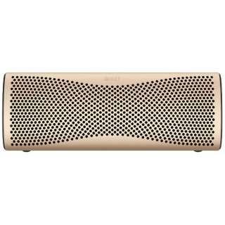 MUO GOLD ブルートゥース スピーカー ホライゾンゴールド [Bluetooth対応]