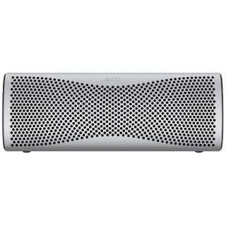 MUO SILVER ブルートゥース スピーカー ライトシルバー [Bluetooth対応]