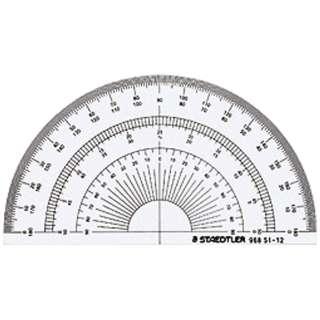 ステッドラー 半円分度器 12cm 968 51-12