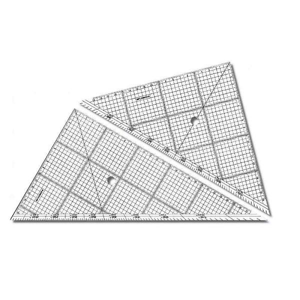 ステッドラー レイアウト用方眼三角定規 30CM一組 966 30