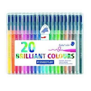 [水性マーカー] トリプラス カラーペン 20色セット 323 SB20
