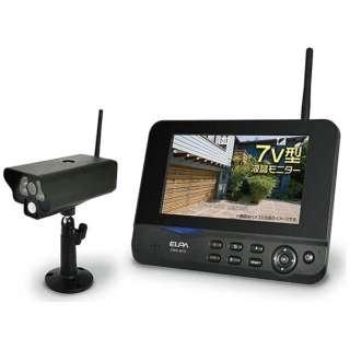 ワイヤレスカメラ&モニターセット CMS-7001