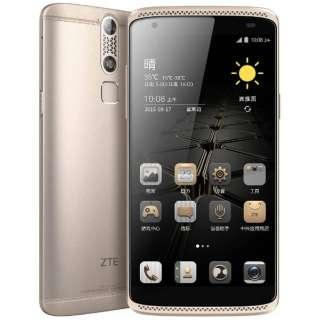 AXON miniイオンゴールド「AXONMINI/GOLD」 Snapdragon 615 Android 5.1・5.2型・メモリ/ストレージ:3GB/32GB nanoSIMx2 SIMフリースマートフォン