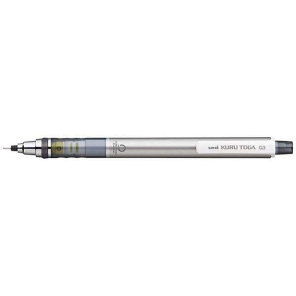 [シャープペン] クルトガ スタンダードモデル シルバー (芯径:0.3mm)