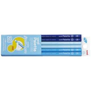 [鉛筆] ユニパレット グリッパーえんぴつ(ノンスリップ加工)  青 (硬度:2B) 1ダース K69082B