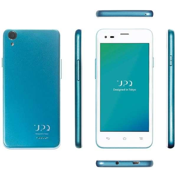 UPQ Phone A01X ホワイトBG「QASP001WBX」 Android 5.1・4.5型・メモリ/ストレージ: 1GB/16GB microSIMx2 SIMフリースマートフォン
