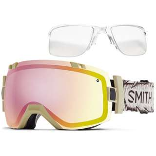 SMITH I/O X インナーフレームセット(Wise Stone Throw/Photochromic Red Sensor[調光]、Clear)