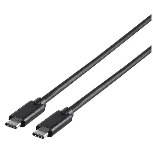 2.0m[USB-C ⇔ USB-C]3.1 Gen1ケーブル 転送 ブラック BSUCC31120BK