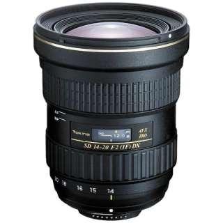 カメラレンズ AT-X 14-20 F2 PRO DX APS-C用 ブラック [キヤノンEF /ズームレンズ]