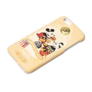 iPhone 6s/6用 ハードケース アンティークコレクション ディズニー・ミッキー&ミニー PG-DCS941MM