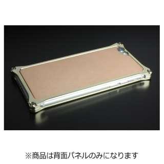 iPhone 6s/6用ソリッドバンパー対応 レザーパネル ナチュラルタン 41411 GI-306NT