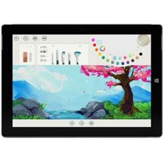 [10.8型/128GB/メモリ:4GB/IntelAtom/シルバー/2015年モデル]MSS-AA4 Windowsタブレット
