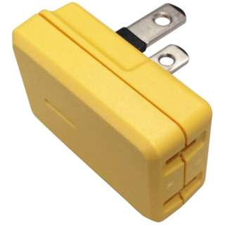 電源タップ COLOR BLOCKS(カラーブロックス) たてブロック W-I-C CT001YE [直挿し /1個口 /スイッチ無]