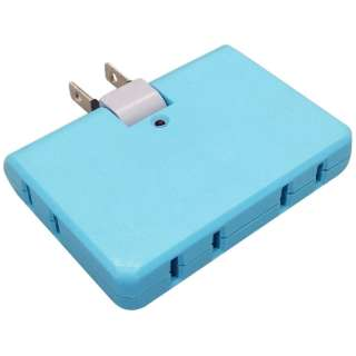 電源タップ 「COLOR BLOCKS フリップブロック」 (2ピン式・4個口) CT002BL