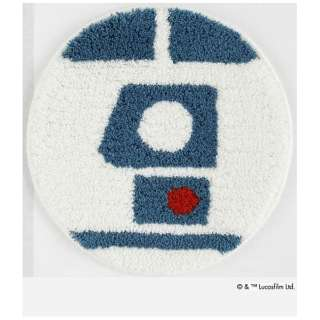 チェアパッド スター・ウォーズ R2-D2(35×35cm/ブルー)【日本製】