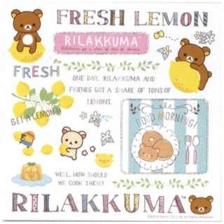 サヴィーナミニマックス フレッシュレモンリラックマ メガネ拭き6