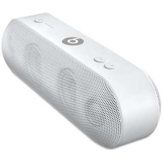 ML4P2PA/A ブルートゥース スピーカー Pill+ ホワイト [Bluetooth対応]