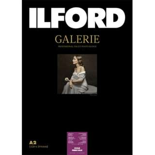 イルフォード ギャラリー プレステージ ゴールドファイバーシルク  310g/m2 (A2サイズ・25枚) Prestige Gold Fibre Silk 422126
