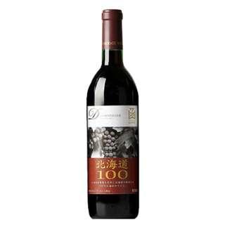はこだてわいん 北海道100 ドルンフェルンダー 赤 720ml【赤ワイン】