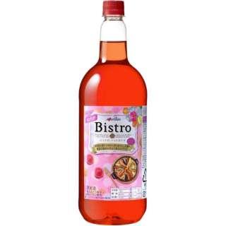 [国産ワイン] ビストロ ロゼ(ペットボトル) 1500ml【ロゼワイン】