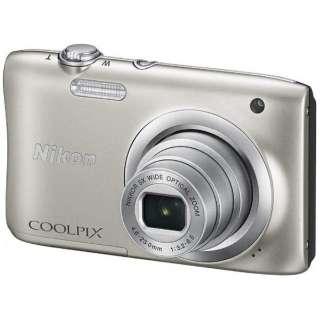 A100 コンパクトデジタルカメラ COOLPIX(クールピクス) シルバー