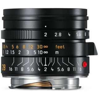 カメラレンズ M F2/28mm ASPH. SUMMICRON(ズミクロン) ブラック [ライカM /単焦点レンズ]