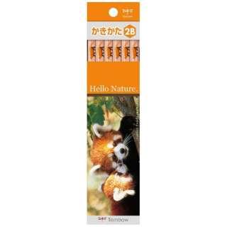 [鉛筆] かきかた鉛筆 ハローネイチャーLP (硬度:2B) 1ダース KB-KHNLP2B